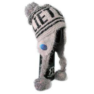 Žieminė ilga kepurė LIETUVA pilka