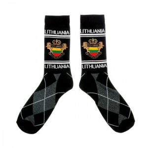 Vyr. kojines LITHUANIA juodos